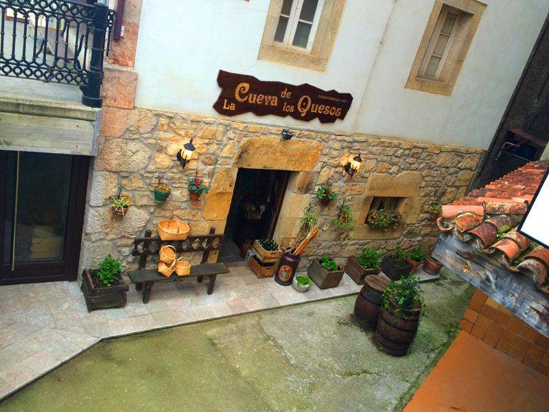 Tienda Cueva de los Quesos - Arenas de Cabrales