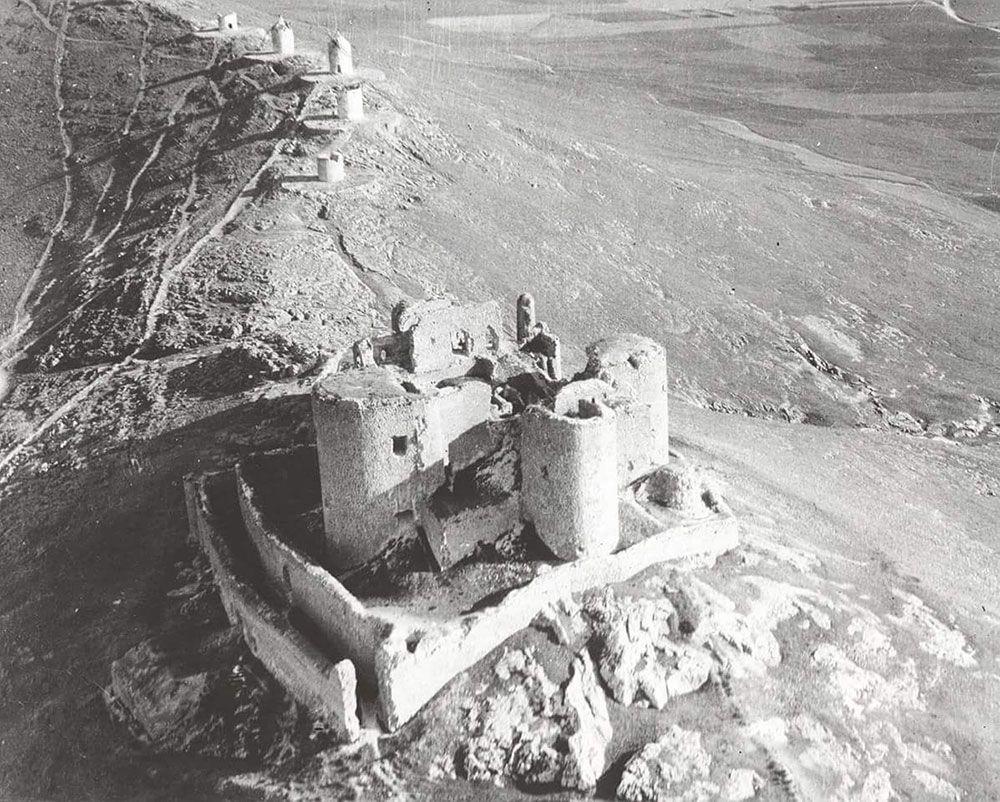 Curiosidades de Consuegra - Castillo y Molinos antiguamente