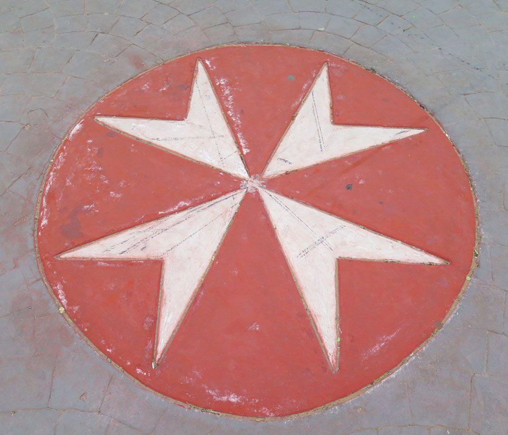 Curiosidades de Consuegra - Cruz de la Orden de San Juan