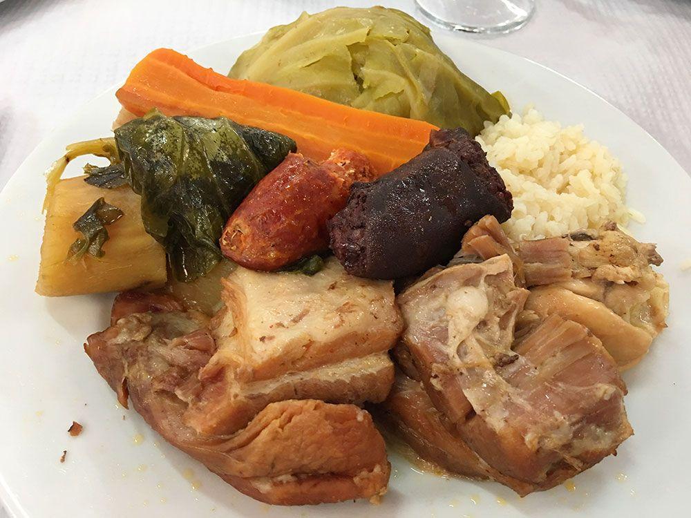 Dónde comer en São Miguel - Azores - Furnas - Tony's - Cocido