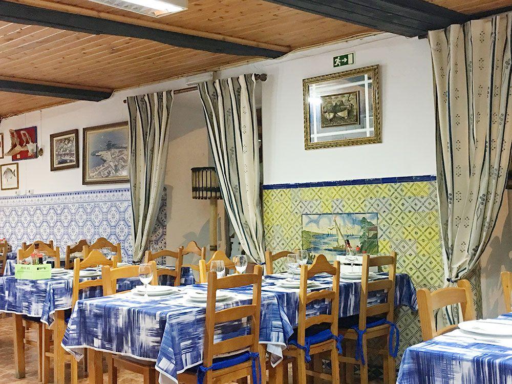 Dónde comer en São Miguel - Azores - Lagoa - Restaurante Borda d'Agua - Salón