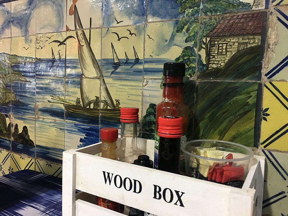 Dónde comer en São Miguel - Azores - Lagoa - Restaurante Borda d'Agua - Salsas