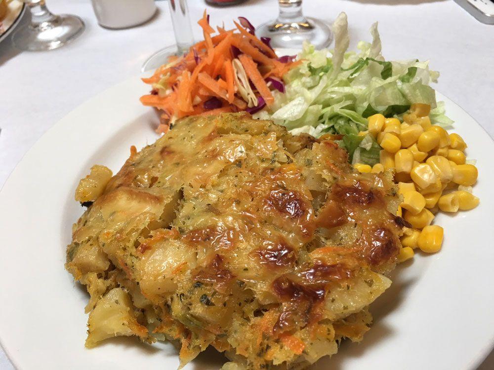 Dónde comer en São Miguel - Azores - Lomba Da Fazenda - Casa do Pasto - Bacalao