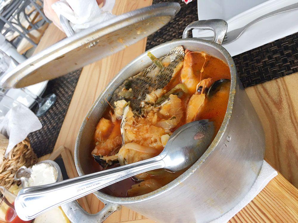 Dónde comer en São Miguel - Azores - Ribeira Grande - Spot - Caldeirada