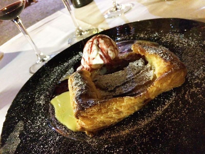 Restaurante Corral del Rey - Tatín de manzana
