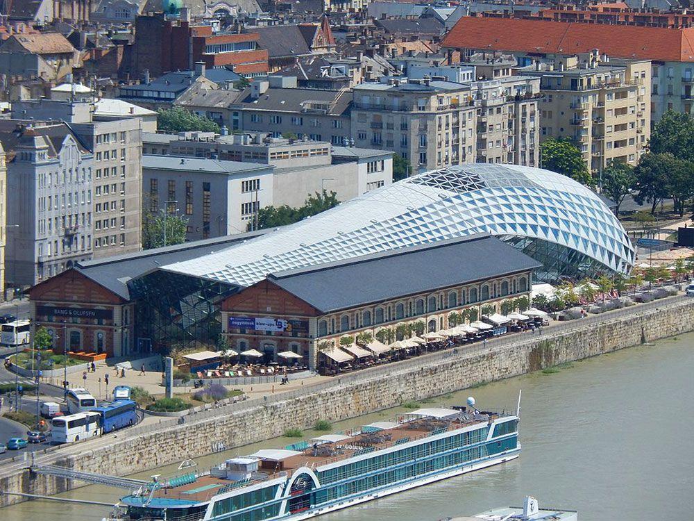 Edificio Bálna de Budapest