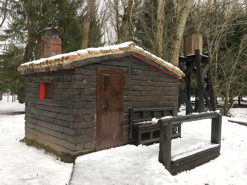 El Bosque Finlandés - Rascafría - Antigua sauna