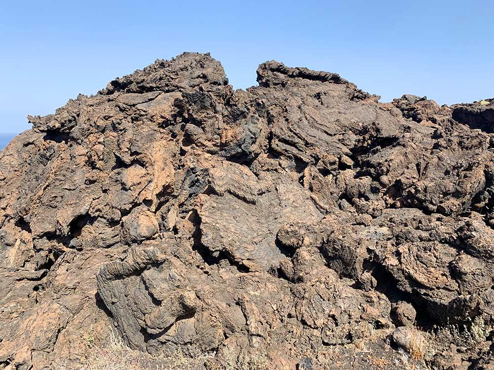 Faro de Orchilla y alrededores - Paisajes de colada volcánica