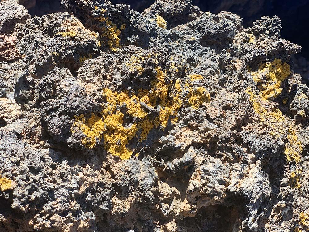 Detalle de lava