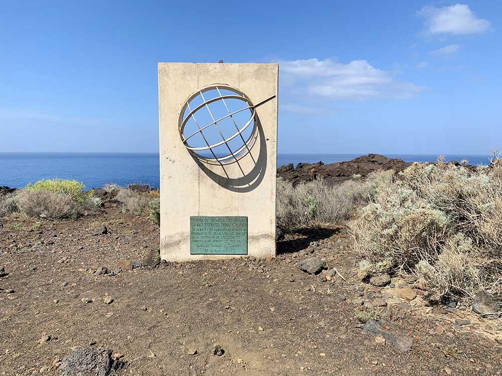 Faro de Orchilla y alrededores - Monumento homenaje al Meridiano 0