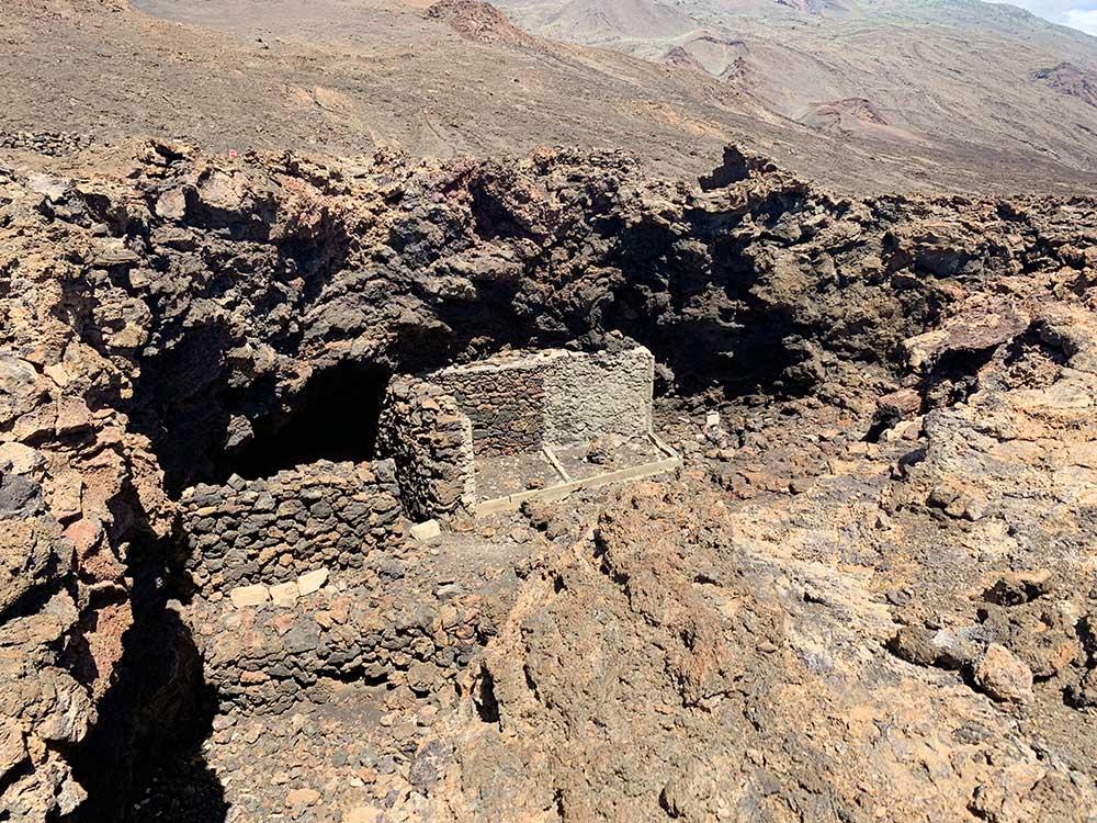 Ruinas en los alrededores del Faro de Orchilla