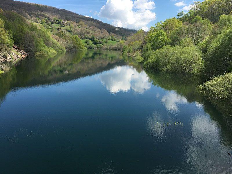 Embalse de Chandrexa de Queixa - Trives - Ourense - Galicia - Embalse 2