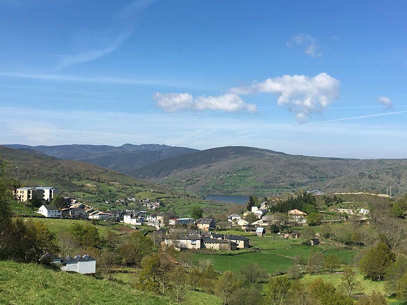 Embalse de Chandrexa de Queixa - Trives - Ourense - Galicia - Panorámica de Chandrexa