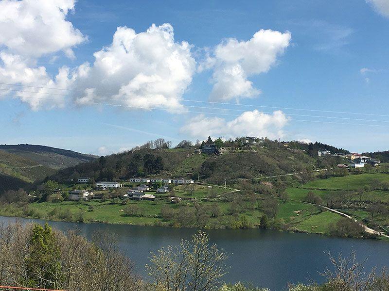 Embalse de Chandrexa de Queixa - Trives - Ourense - Galicia - Vistas