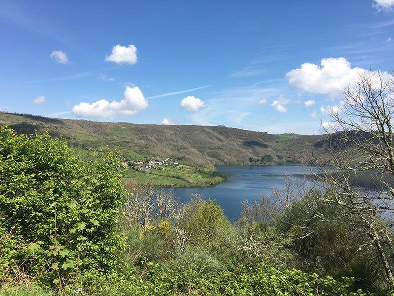 Embalse de Chandrexa de Queixa - Trives - Ourense - Galicia -
