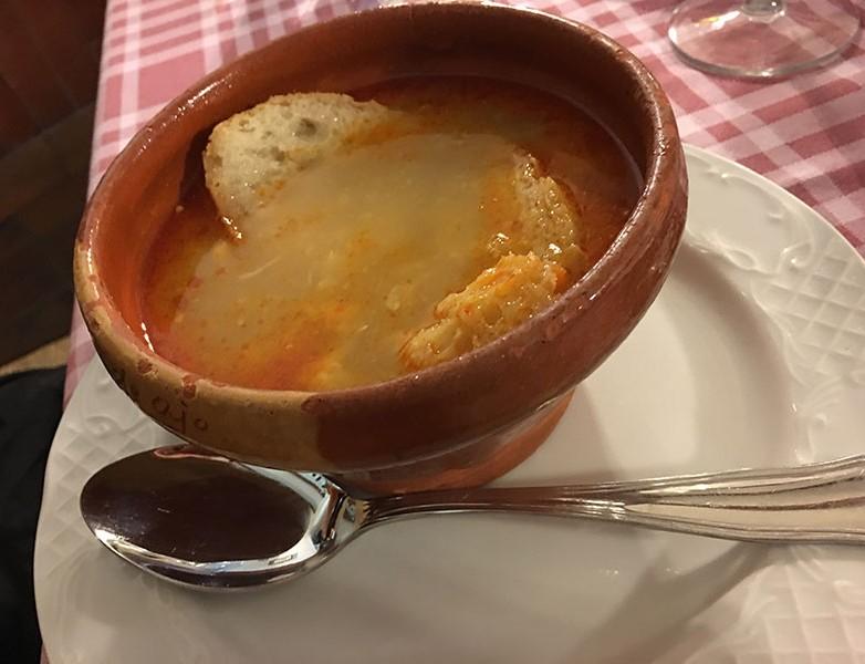 Sopa castellana (de las mejores que he comido)