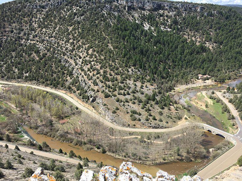 Entorno del Cañón del Río Lobos - Vistas del río Ucero