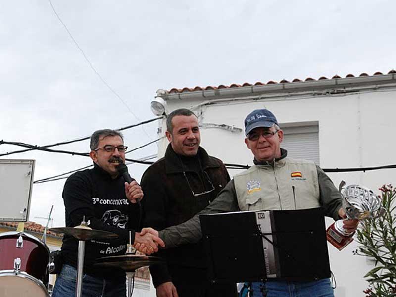Concentración de Clásicos de Alcollarín - Entrega premios 3ª edición