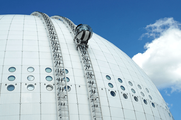 Sky View del Ericsson Globe de Estocolmo