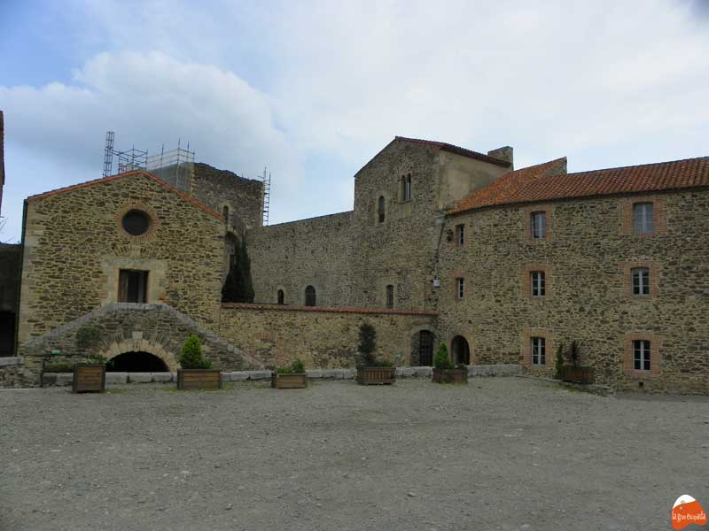 Interior del Castillo de Collioure