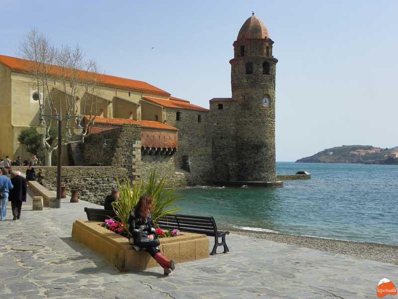 Paseando en Collioure