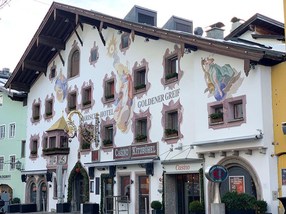 Esquiar en Kitzbühel - Fachada