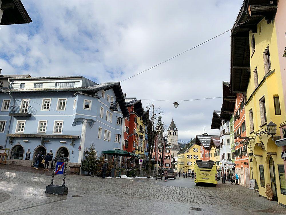 Centro medieval histórico de Kitzbühel