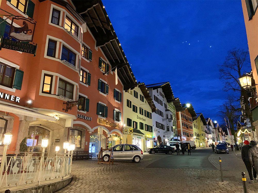 Kitzbühel de noche