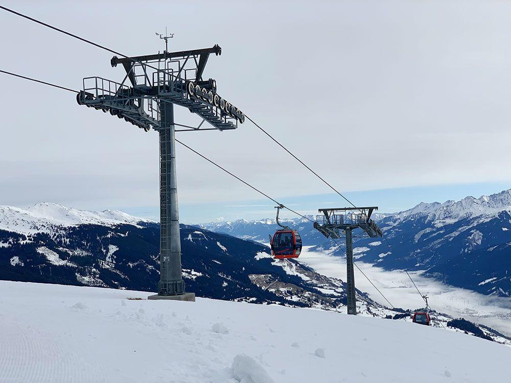 Esquiar en Kitzbühel - Panoramabahn