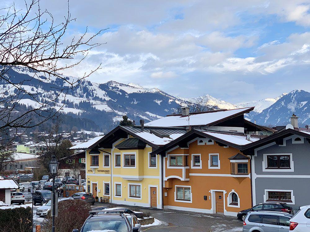 Esquiar en Kitzbühel - Paisajes