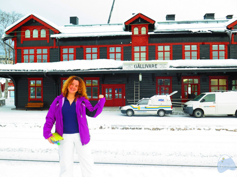 Estación de tren de Gällivare