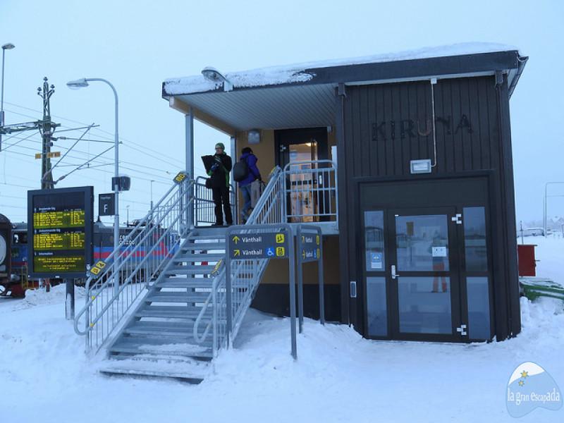 Estación de tren de Kiruna