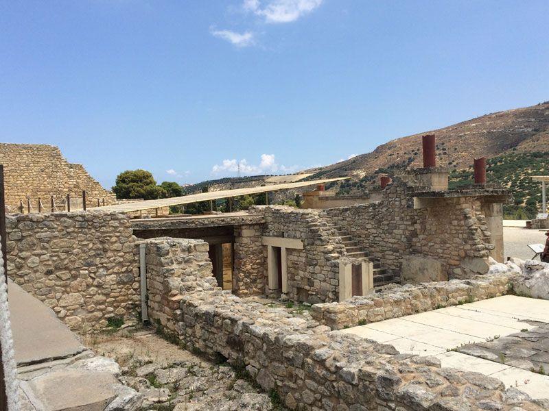 Palacio de Knossos - Estancias del Palacio de Knossos