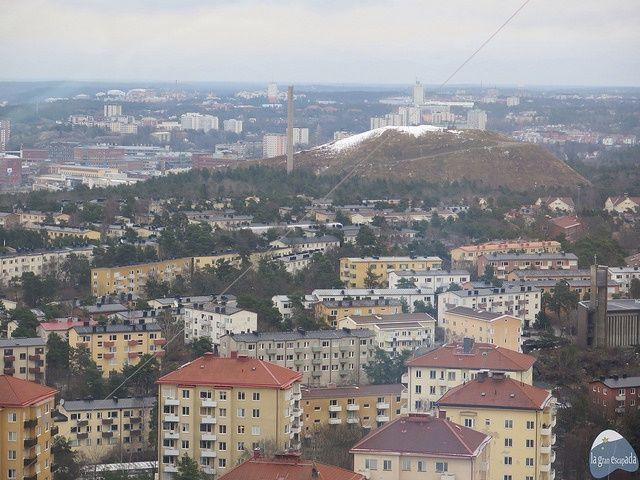 Panorámica de Estocolmo desde el Skyview