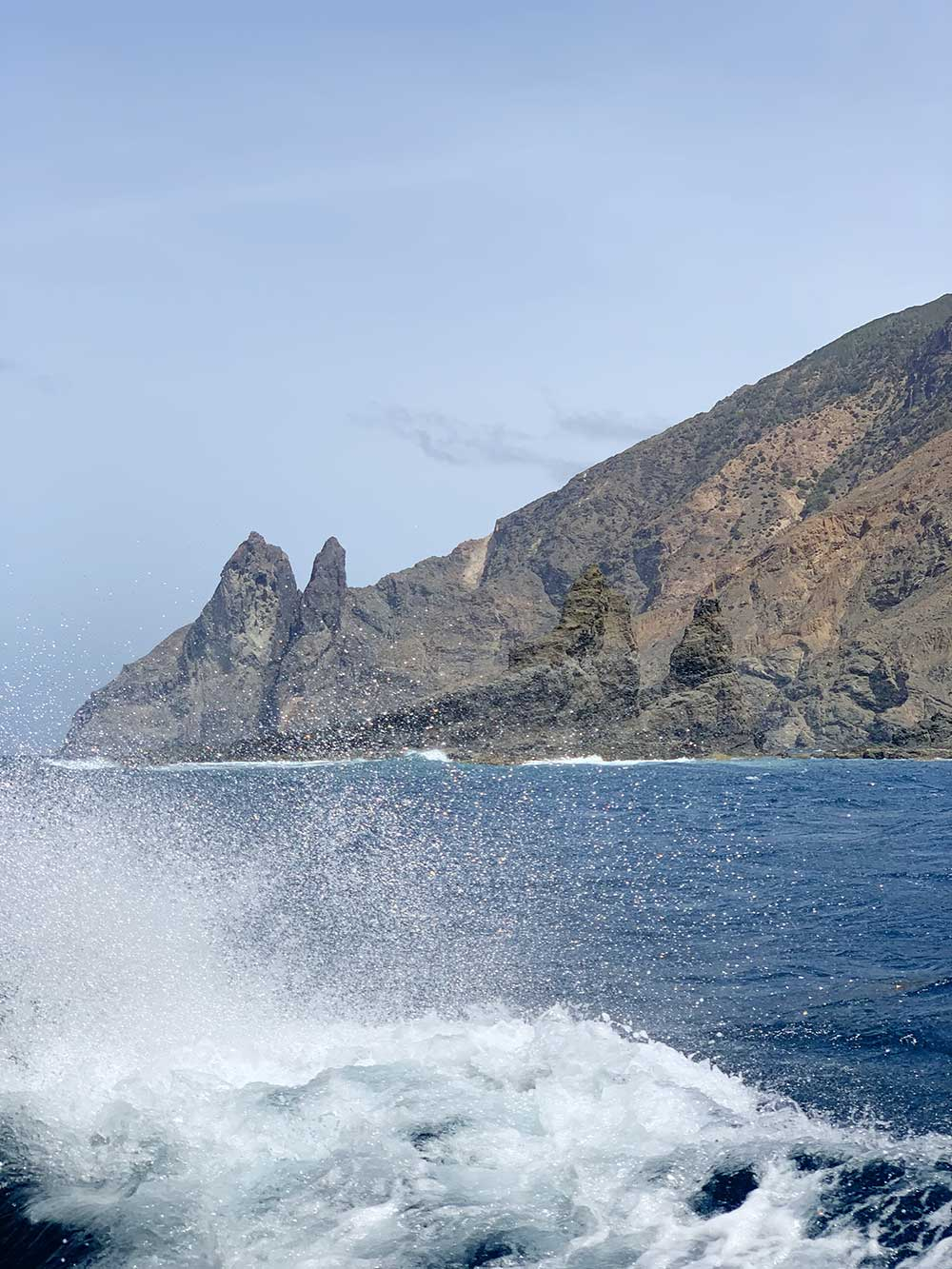 Excursión a los Órganos de La Gomera - Aguas embravecidas