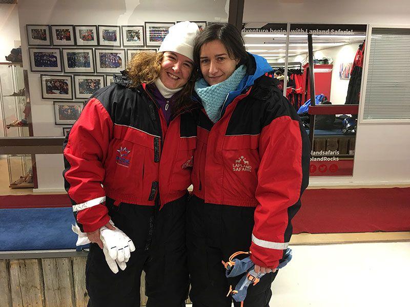 Excursión de raquetas de nieve en Rovaniemi - Lapland Safaris