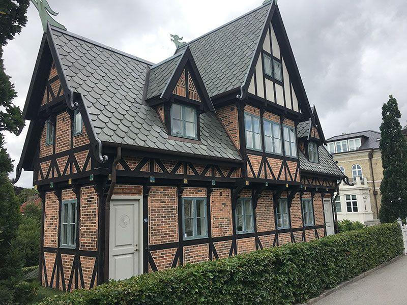 Experiencias y sensaciones en Copenhague - Uno de los edificios de The Carlsberg City