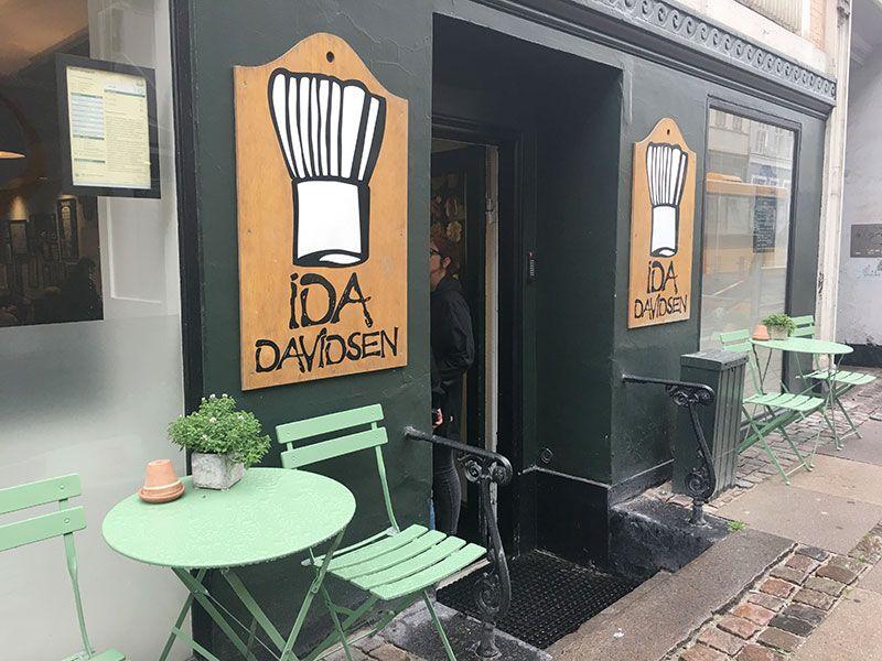 Experiencias y sensaciones en Copenhague - Fachada del Ida Davidsen