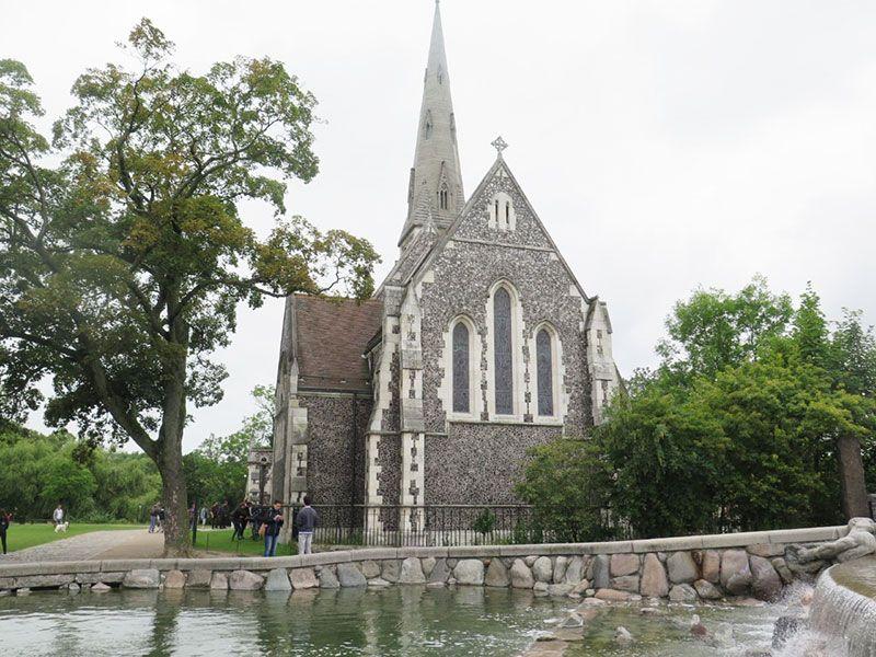 Experiencias y sensaciones en Copenhague - Iglesia anglicana