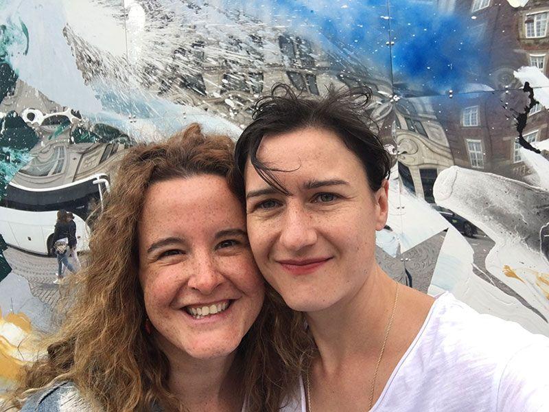 Experiencias y sensaciones en Copenhague - Selfie en la Plaza Kongen Nytorv