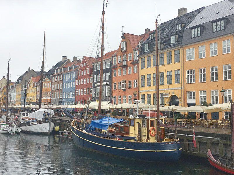 Experiencias y sensaciones en Copenhague - Canal de Nyhavn