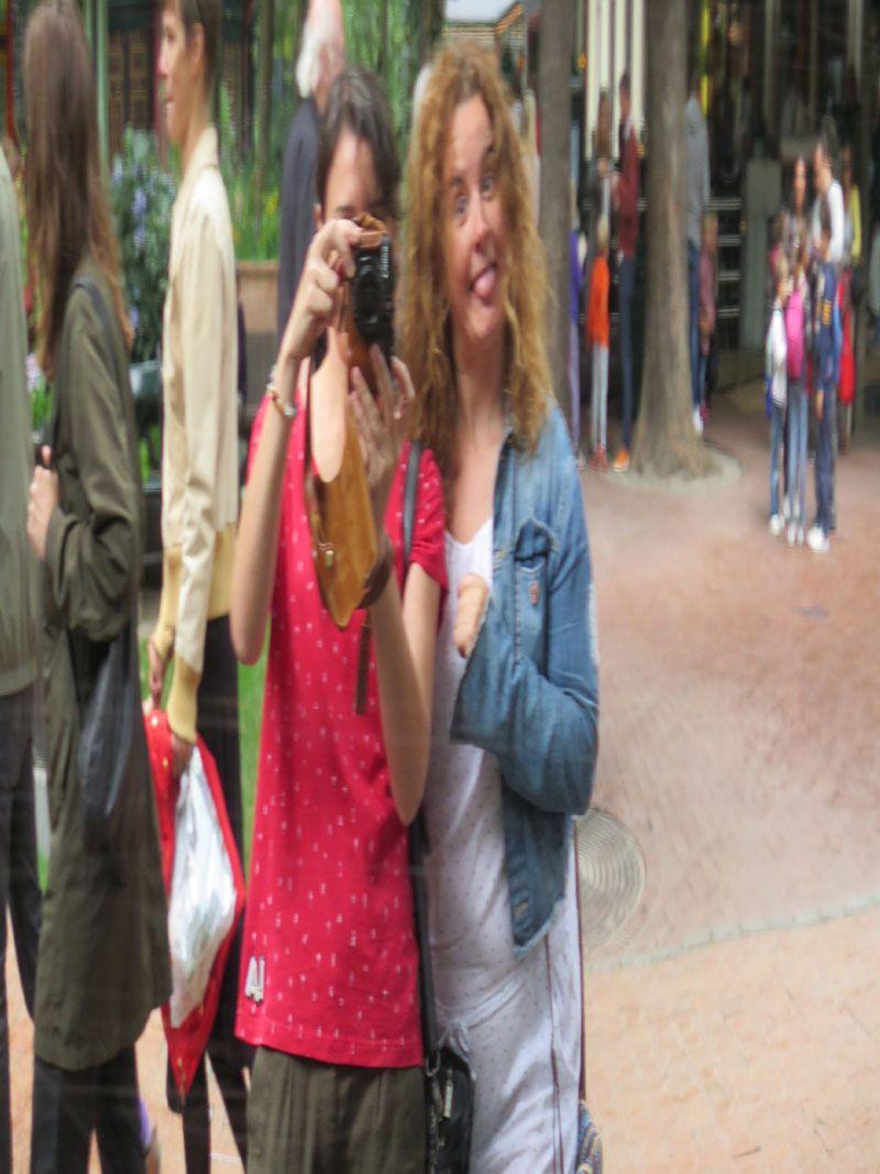 Experiencias y sensaciones en Copenhague - Tivoli - Espejos