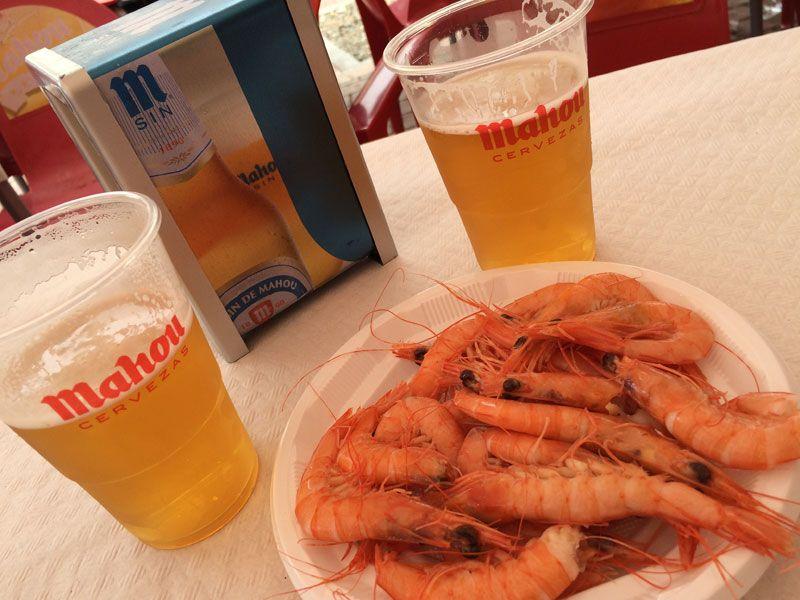 Feria de Albacete - Gambas y caña