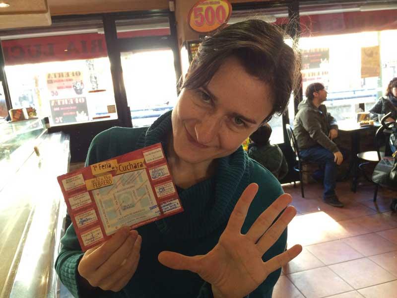 Feria de la Cuchara de Carabanchel - 5 sellos completados