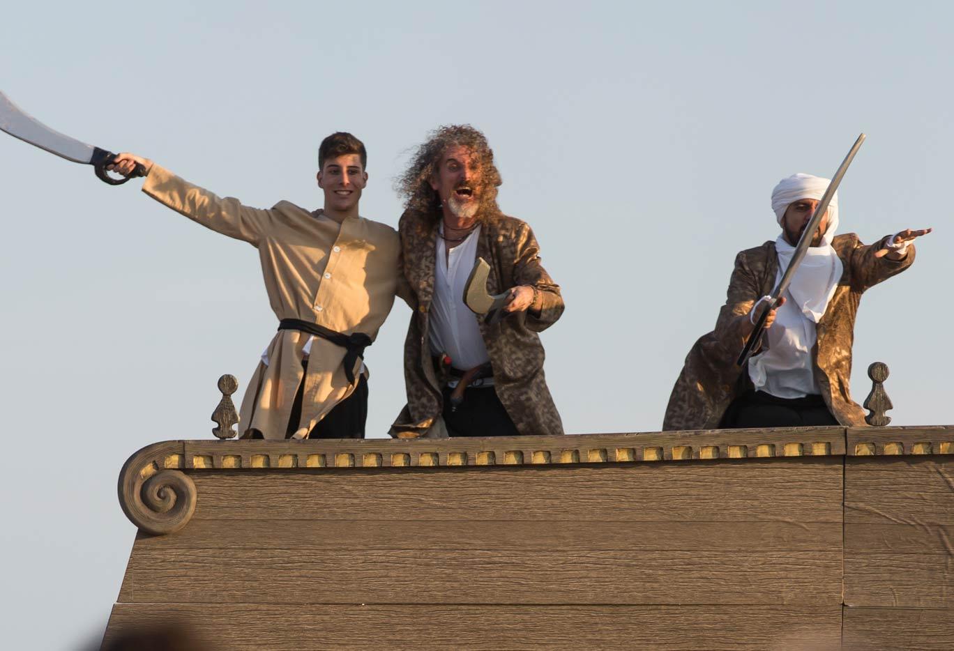 Representación del Festival del Mar de Castelldefels
