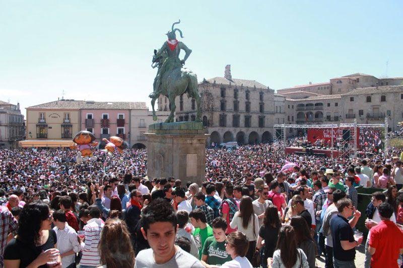 Trujillo celebrando su Fiesta del Chíviri