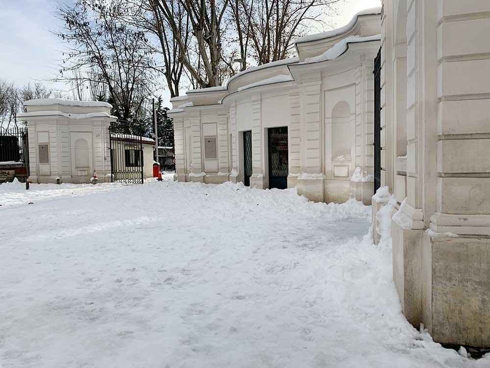 Quinta de los Molinos nevada