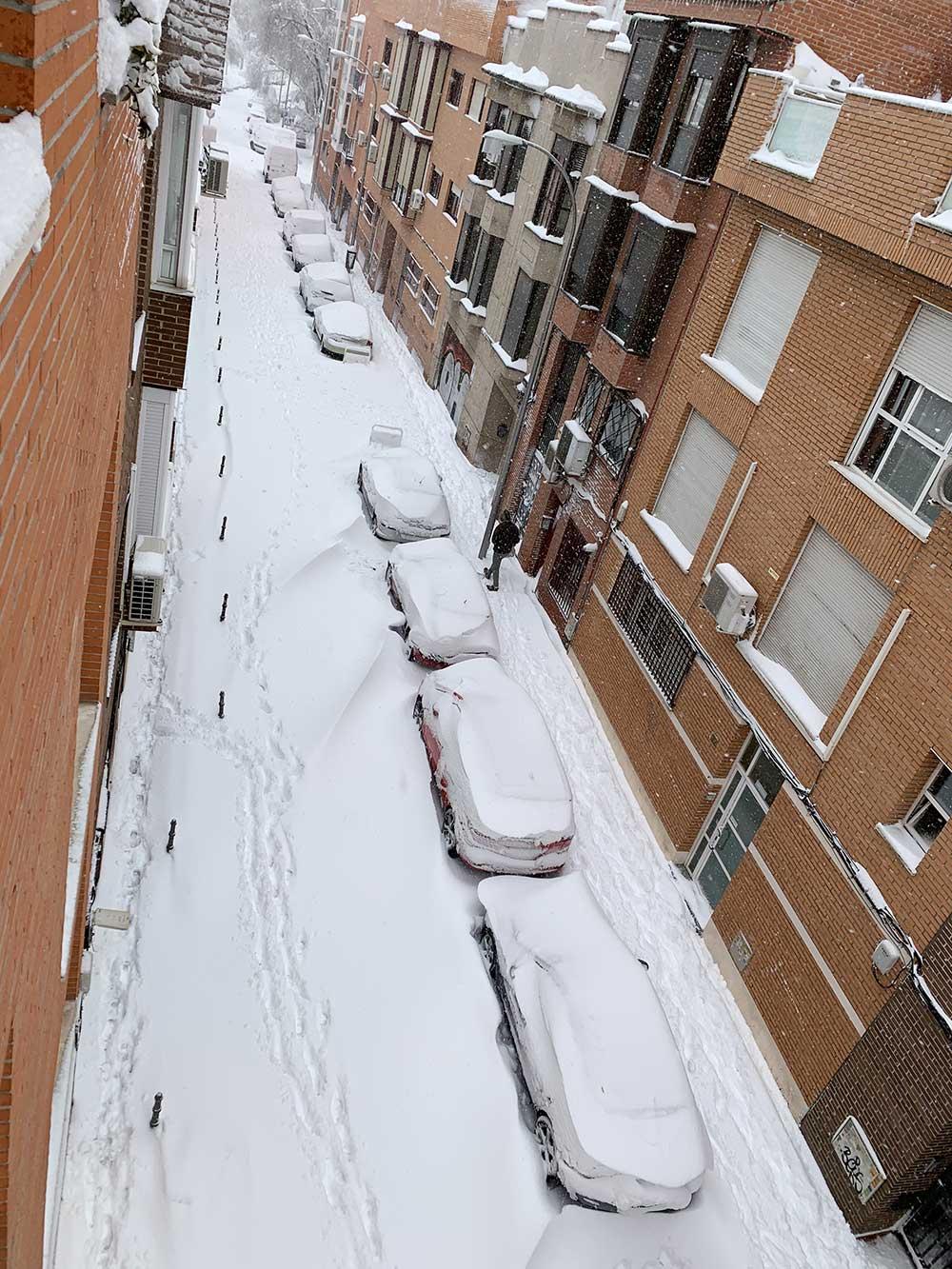 Dunas de nieve