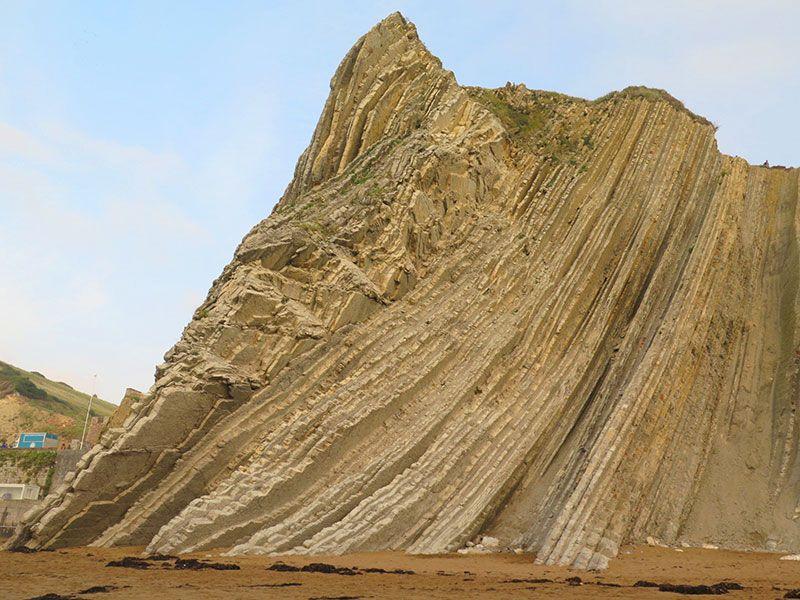 Flysch - Geoparque de la Costa Vasca - Acantilado