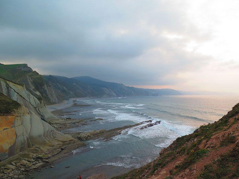 Flysch - Geoparque de la Costa Vasca - Panorámica